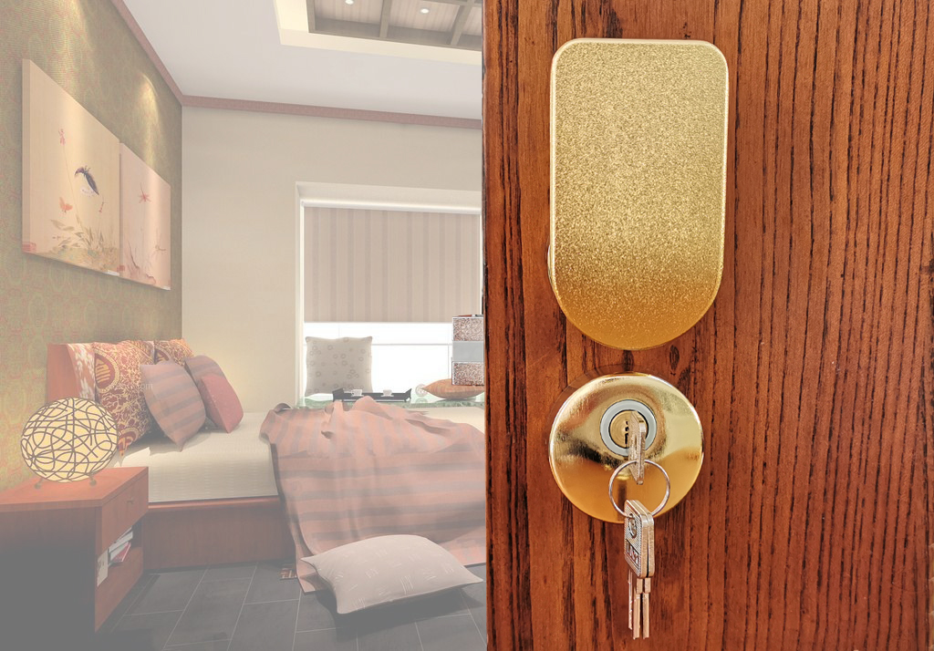 静音门锁使用保养注意事项